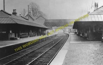 Cambuslang Railway Station Photo. Newton - Rutherglen. Caledonian Railway. (1)..