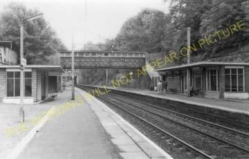 Cambuslang Railway Station Photo. Newton - Rutherglen. Caledonian Railway. (5)