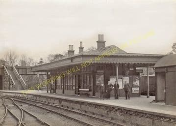 Cameron Bridge Railway Station Photo. Leven - Thornton Junction. NBR. (1)..