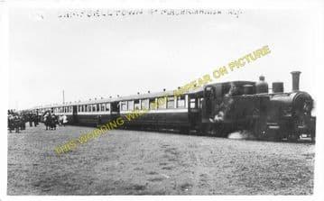 Campbeltown Railway Station Photo. Campbeltown & Machrihanish Railway. (4)