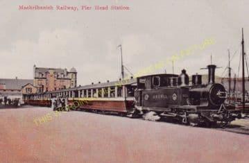 Campbeltown Railway Station Photo. Campbeltown & Machrihanish Railway. (5)