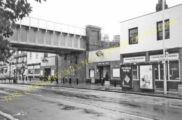 Canons Park Railway Station Photo. Harrow - Stanmore. Metropolitan Railway. (3)