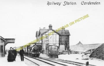 Cardenden Railway Station Photo. Thornton Jct - Lochgelly. Cowdenbeath Line. (1)