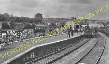 Cardigan Railway Station Photo. Kilgerran, Boncath and Whitland Line. GWR. (15)