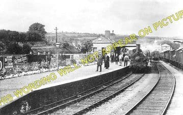 Cardigan Railway Station Photo. Kilgerran, Boncath and Whitland Line. GWR. (2)