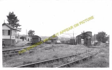 Cardigan Railway Station Photo. Kilgerran, Boncath and Whitland Line. GWR. (9)