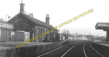 Cardross Railway Station Photo. Dumbarton - Craigendoran. Helensburgh Line. (1)