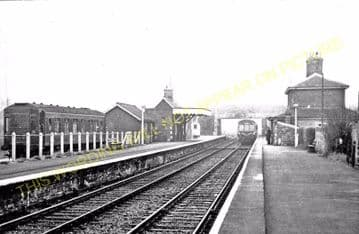 Carlton Colville Railway Station Photo. Oulton Broad South. Lowestoft Line. (2)..