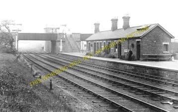 Carlton Railway Station Photo. Redmarshall. Stockton - Stillington. (1)