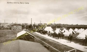 Carnoustie Railway Station Photo. Barry Links - East Haven. Dundee Line. (2)