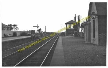Carnwath Railway Station Photo. Carstairs - Auchengray. Caledonian Railway. (1)