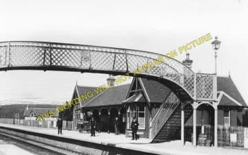 Carr Bridge Railway Station Photo. Aviemore - Tamotin. Inverness Line. (1)