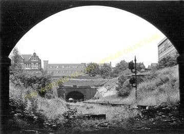 Carrington Railway Station Photo. Nottingham - New Basford. GCR. (8)