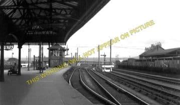 Carstairs Railway Station Photo. Caledonian Railway. (1)..