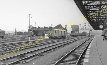 Carstairs Railway Station Photo. Caledonian Railway. (10)