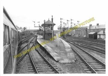 Carstairs Railway Station Photo. Caledonian Railway. (2)