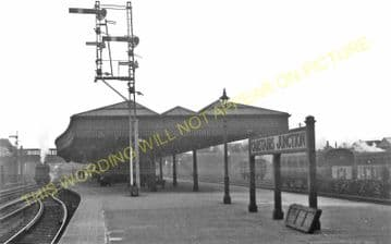 Carstairs Railway Station Photo. Caledonian Railway. (7)
