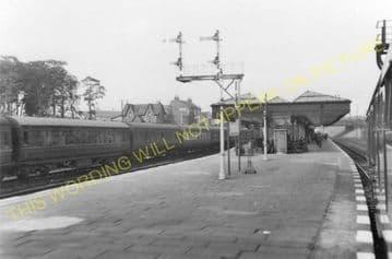 Carstairs Railway Station Photo. Caledonian Railway. (8)