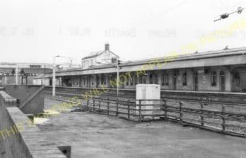 Carstairs Railway Station Photo. Caledonian Railway. (9).