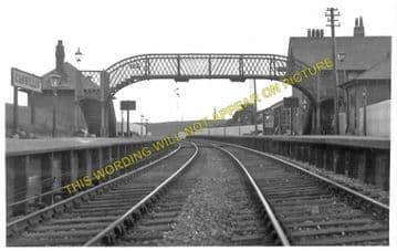 Cassillis Railway Station Photo. Maybole - Dalrymple. Girvan to Ayr Line. (1).