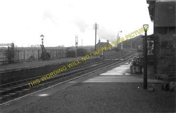 Castle Kennedy Railway Station Photo. Dunragit - Stranraer. Portpatrick Line (1)