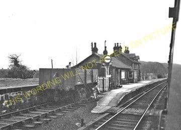 Castle Kennedy Railway Station Photo. Dunragit - Stranraer. Portpatrick Line (3)