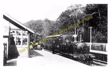 Catrine Railway Station Photo. Mauchline Line. Glasgow & South Western Rly. (5)