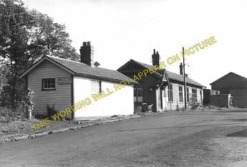 Catrine Railway Station Photo. Mauchline Line. Glasgow & South Western Rly. (6)