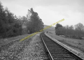 Cattistock Railway Station Photo. Evershot - Maiden Newton. Yeovil Line. (4)