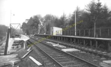 Cattistock Railway Station Photo. Evershot - Maiden Newton. Yeovil Line. (7)