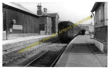 Cefn Coed Railway Station Photo. Merthyr - Pontsarn. Pontsticill Line. B&MR. (1)
