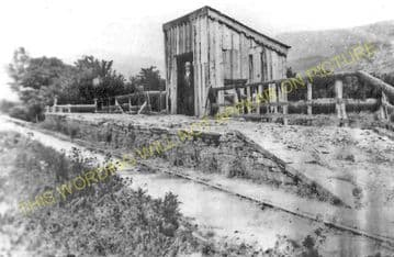Cemmaes Railway Station Photo. Cemmes Road - Dinas Mawddwy. Cambrian Railway (1)..