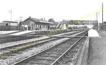Challow Railway Station Photo. Wantage Road - Uffington. Didcot to Swindon. (1)