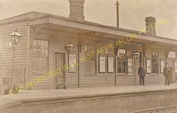 Challow Railway Station Photo. Wantage Road - Uffington. Didcot to Swindon. (11)