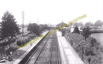 Challow Railway Station Photo. Wantage Road - Uffington. Didcot to Swindon. (3)