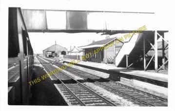 Challow Railway Station Photo. Wantage Road - Uffington. Didcot to Swindon. (7)