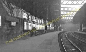 Charing Cross Railway Station Photo. Glasgow. North British Railway. (1).