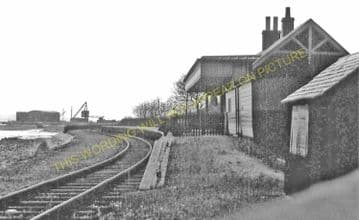 Charlestown Railway Station Photo. Braeside and Dunfermline Line. NBR. (2)