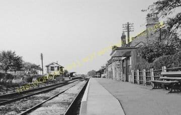 Chatteris Railway Station Photo. Wimblington - Somersham. March to St. Ives. (12).