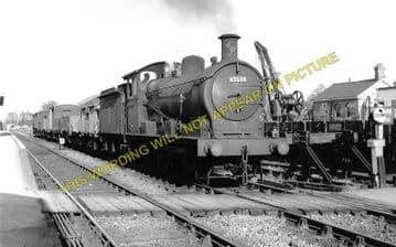 Chatteris Railway Station Photo. Wimblington - Somersham. March to St. Ives. (2)