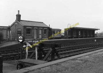 Chatteris Railway Station Photo. Wimblington - Somersham. March to St. Ives. (5)
