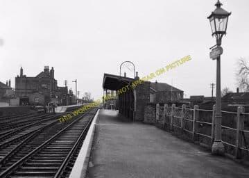 Chatteris Railway Station Photo. Wimblington - Somersham. March to St. Ives. (6)