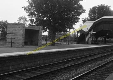 Chepstow Railway Station Photo. Portskewett to Tidenham and Woolaston Lines (10)