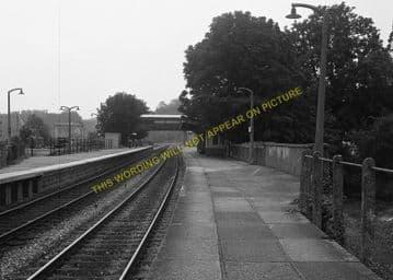 Chepstow Railway Station Photo. Portskewett to Tidenham and Woolaston Lines (13)