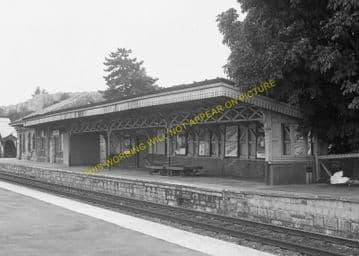 Chepstow Railway Station Photo. Portskewett to Tidenham and Woolaston Lines (14)