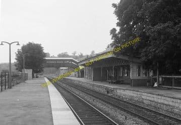 Chepstow Railway Station Photo. Portskewett to Tidenham and Woolaston Lines (16)