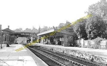 Chepstow Railway Station Photo. Portskewett to Tidenham and Woolaston Lines (2)