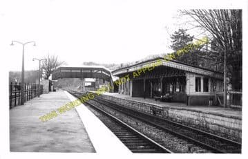Chepstow Railway Station Photo. Portskewett to Tidenham and Woolaston Lines (22)