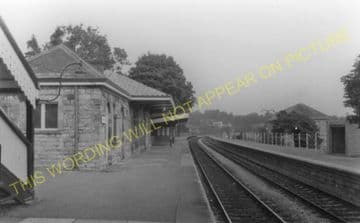 Chepstow Railway Station Photo. Portskewett to Tidenham and Woolaston Lines (24)