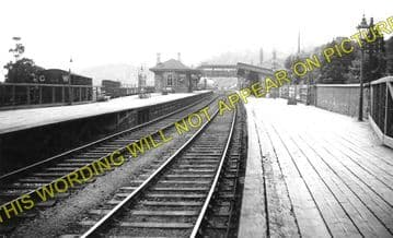 Chepstow Railway Station Photo. Portskewett to Tidenham and Woolaston Lines. (1)